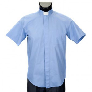 Camicia clergime manica corta