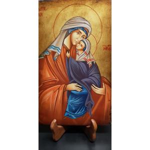 Icona Maria bambina