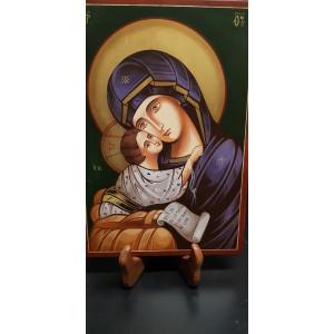 Icona Madonna fazzoletto