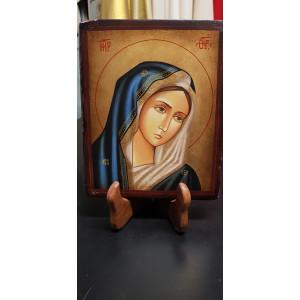 Icona Madonna Orante Cattolica